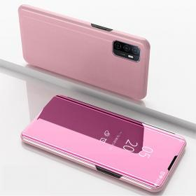Taltech View Window Fodral till Galaxy A32 5G - Rosa
