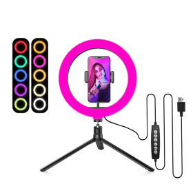 SiGN RGB Ring Light Selfie lampa