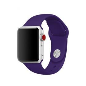 Taltech Silikonarmband till Apple Watch 44mm & 42 mm - Lila