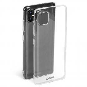 Krusell Krusell SoftCover Cover iPhone 12/12 Pro - Transparent