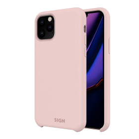 SiGN SiGN Liquid Silicone Case för iPhone 11 Pro Max - Rosa